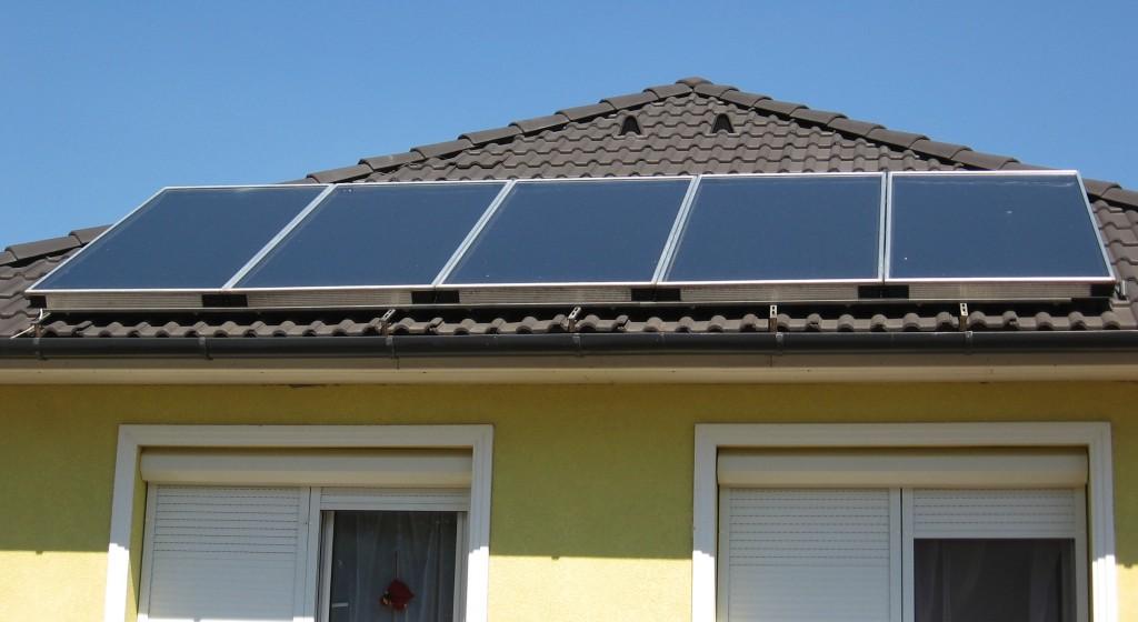Kolektory słoneczne do c.o. i c.w.u.