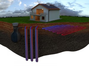 Ogrzewanie geotermalne domu
